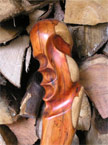 Another photo showing the incredible detail in the axe handle